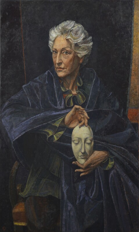 Dame Monica Margaret Mason, by Saied Dai, 2013 - NPG 6978 - © National Portrait Gallery, London