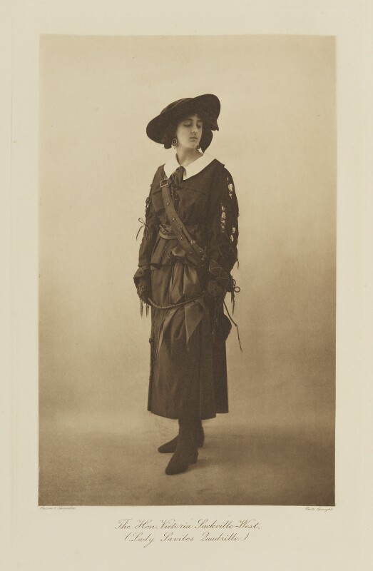 Vita Sackville-West, by Speaight Ltd, published by  Hudson & Kearns Ltd, 20 June 1911, published 1912 - NPG Ax135793 - © National Portrait Gallery, London