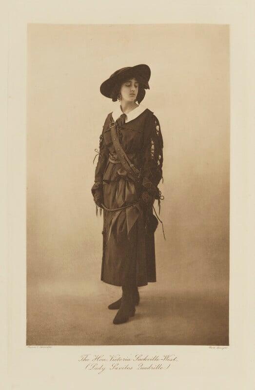 Vita Sackville-West, by Speaight Ltd, published by  Hudson & Kearns Ltd, 20 June 1911, published 1912 - NPG Ax135793 - © National Portrait Gallery, London