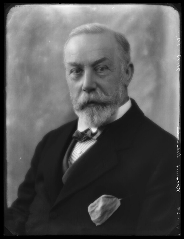 James William Lowther, 1st Viscount Ullswater, by Bassano Ltd, 9 January 1929 - NPG x158650 - © National Portrait Gallery, London