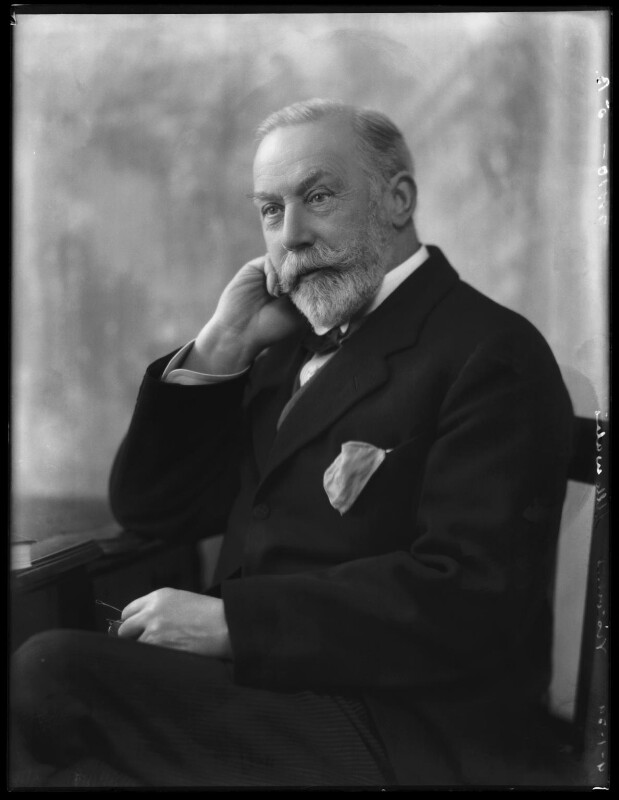 James William Lowther, 1st Viscount Ullswater, by Bassano Ltd, 9 January 1929 - NPG x158652 - © National Portrait Gallery, London
