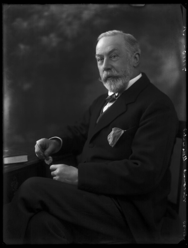 James William Lowther, 1st Viscount Ullswater, by Bassano Ltd, 9 January 1929 - NPG x158653 - © National Portrait Gallery, London