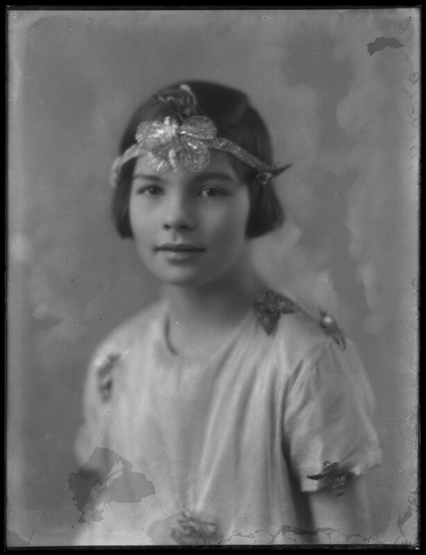 Lady Irene Violet Freesia Janet Augusta Astor of Hever (née Haig), by Bassano Ltd, 12 January 1929 - NPG x158658 - © National Portrait Gallery, London