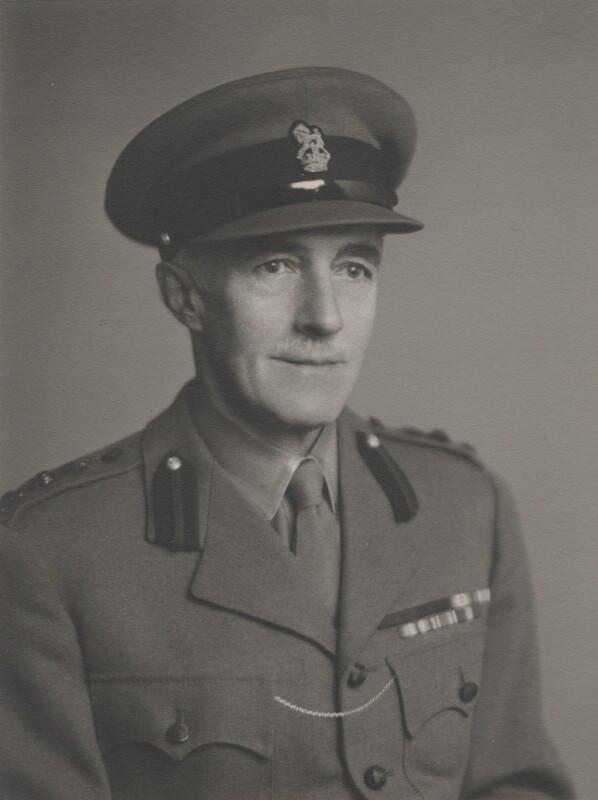 Sir (Edward) Geoffrey Hippisley-Cox, by Walter Stoneman, November 1945 - NPG x168329 - © National Portrait Gallery, London