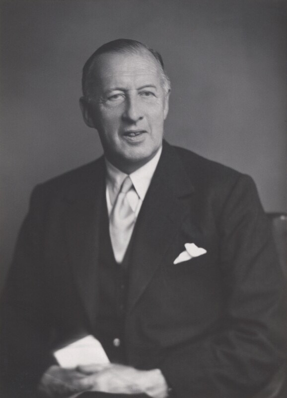 Francis Lord Charlton ('Charles') Hodson, Baron Hodson, by Walter Stoneman, 1954 - NPG x168357 - © National Portrait Gallery, London