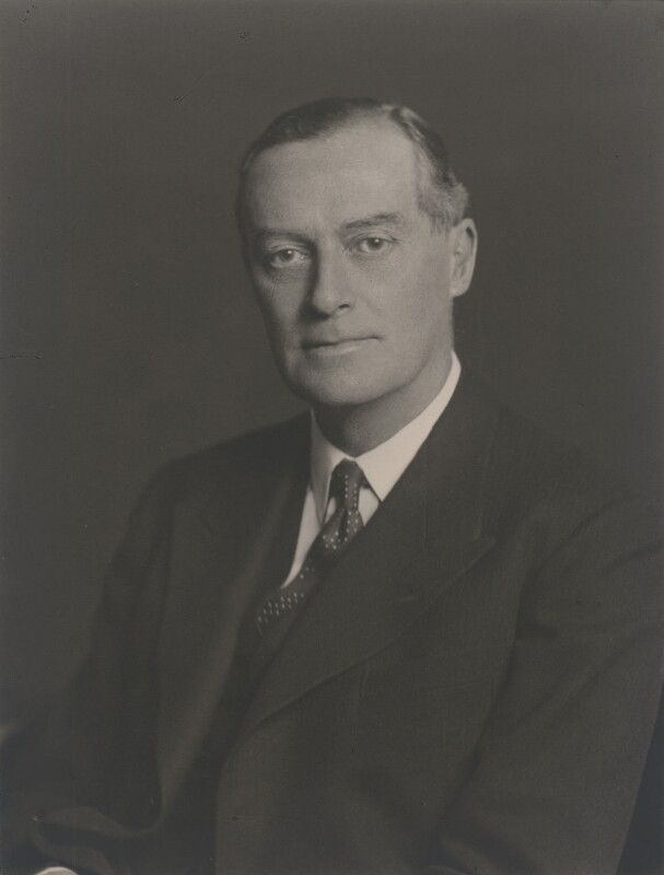 Sir Maurice Gerald Holmes, by Walter Stoneman, 1938 - NPG x168388 - © National Portrait Gallery, London