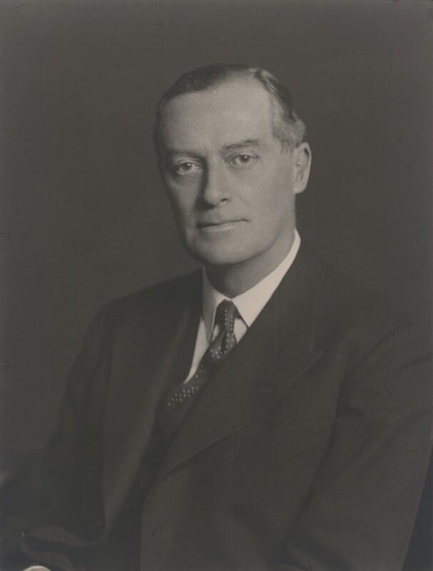 Sir Maurice Gerald Holmes, by Walter Stoneman, 1938 - NPG x168388 - © National Portrait Gallery, London