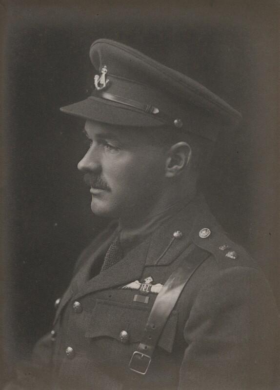 Edward John Holt, by Walter Stoneman, 1917 - NPG x168392 - © National Portrait Gallery, London