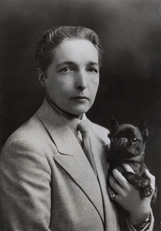 Radclyffe Hall, by Unknown photographer, circa 1930 - NPG x136620 - © National Portrait Gallery, London