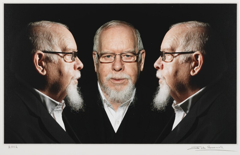 Sir Peter Thomas Blake, by John Swannell, 2012 - NPG P1704 - © John Swannell / Camera Press