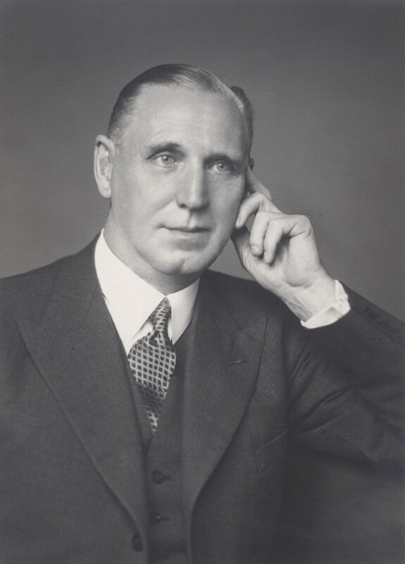 Sir John Huggins, by Walter Stoneman, 28 June 1948 - NPG x168464 - © National Portrait Gallery, London