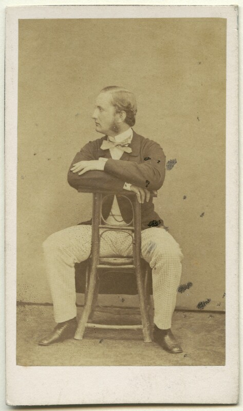 Nikolaus Wilhelm, Prince of Nassau, by Pierre Petit & Trinquart, 1858-1862 - NPG x136640 - © National Portrait Gallery, London