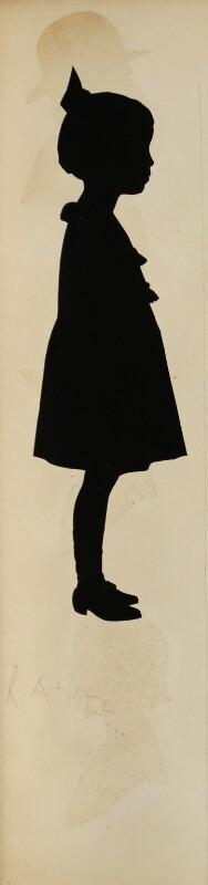 Rachel Newbolt, by Hubert John Leslie, 1923 - NPG D42584 - © National Portrait Gallery, London