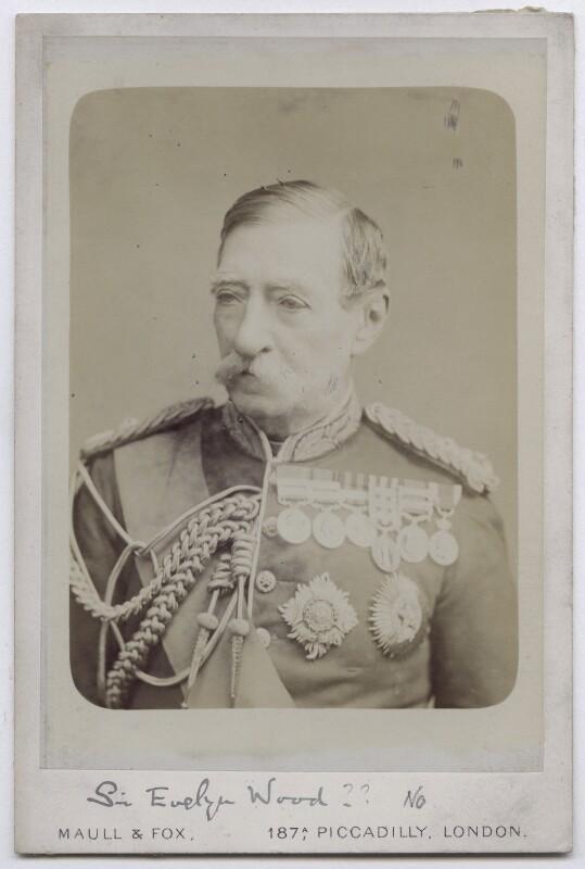 Robert Cornelis Napier, 1st Baron Napier of Magdala, by Maull & Fox, 1877-1890 - NPG x136663 - © National Portrait Gallery, London