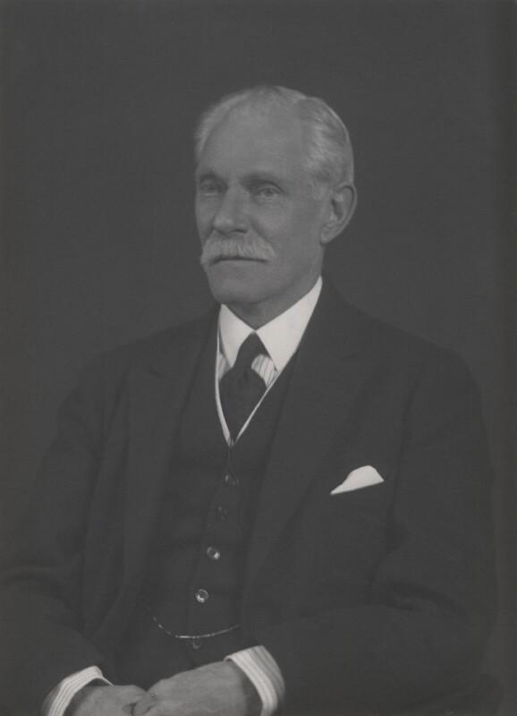 John Poynder Dickson-Poynder, 1st Baron Islington, by Walter Stoneman, 1932 - NPG x168555 - © National Portrait Gallery, London