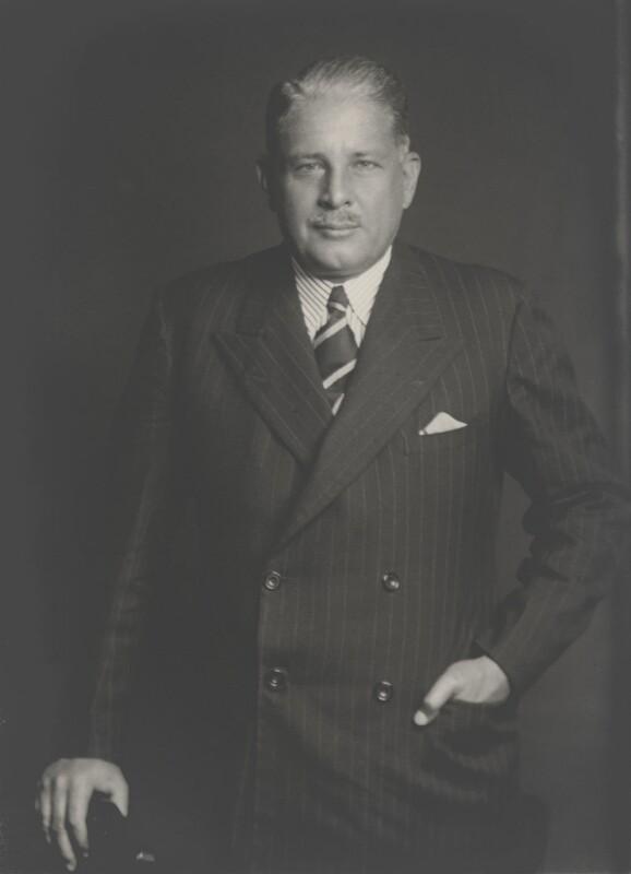 Sir Douglas James Jardine, by Walter Stoneman, 1934 - NPG x168586 - © National Portrait Gallery, London