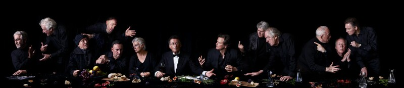 Actors' Last Supper, by Alistair Morrison, and by  Andy Teare, and by  Dean Mitchell, 2011 - NPG x136665 - © Alistair Morrison / Andy Teare / Dean Mitchell