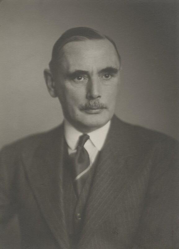 Sir Evan Meredith Jenkins, by Walter Stoneman, March 1946 - NPG x168606 - © National Portrait Gallery, London