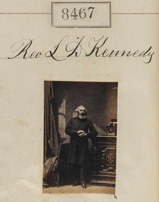 Lewis Drummond Kennedy, by Camille Silvy, 3 June 1862 - NPG Ax58289 - © National Portrait Gallery, London