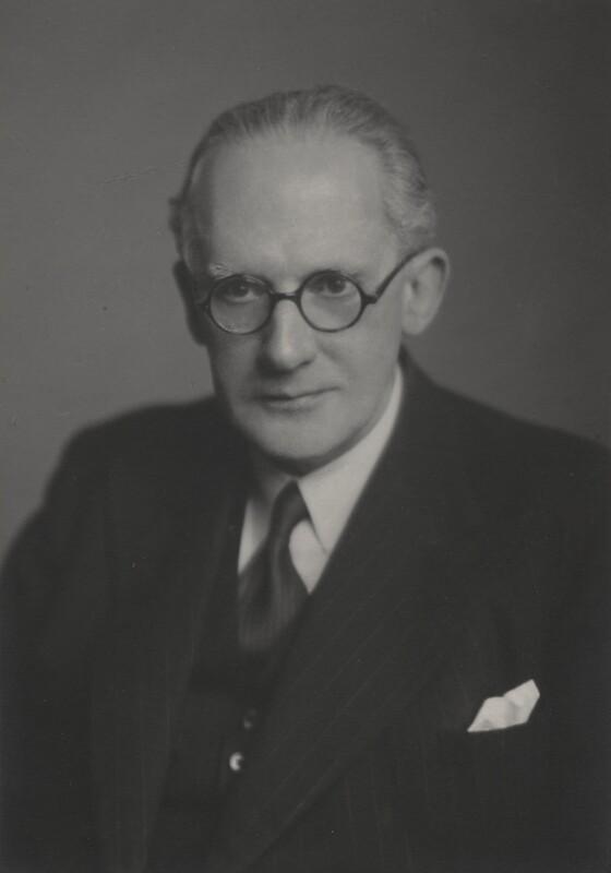 Herbert James Paton, by Walter Stoneman, 19 May 1947 - NPG x169881 - © National Portrait Gallery, London