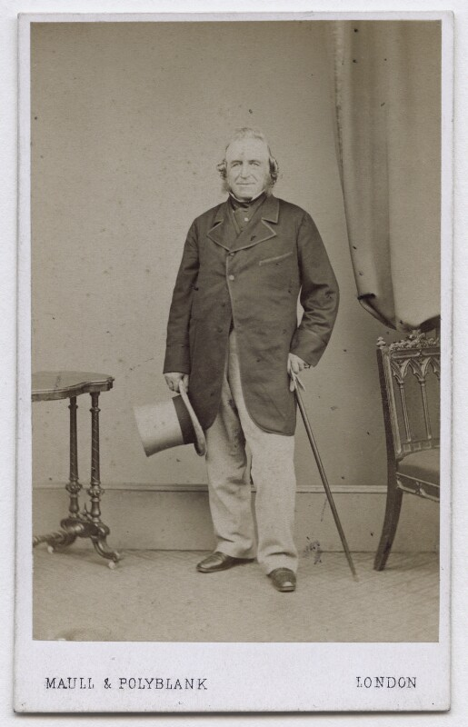 Sir Joseph Paxton, by Maull & Polyblank, 1864-1865 - NPG x136675 - © National Portrait Gallery, London