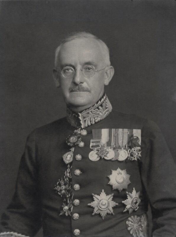 Sir Terence Humphrey Keyes, by Walter Stoneman, 1933 - NPG x168735 - © National Portrait Gallery, London