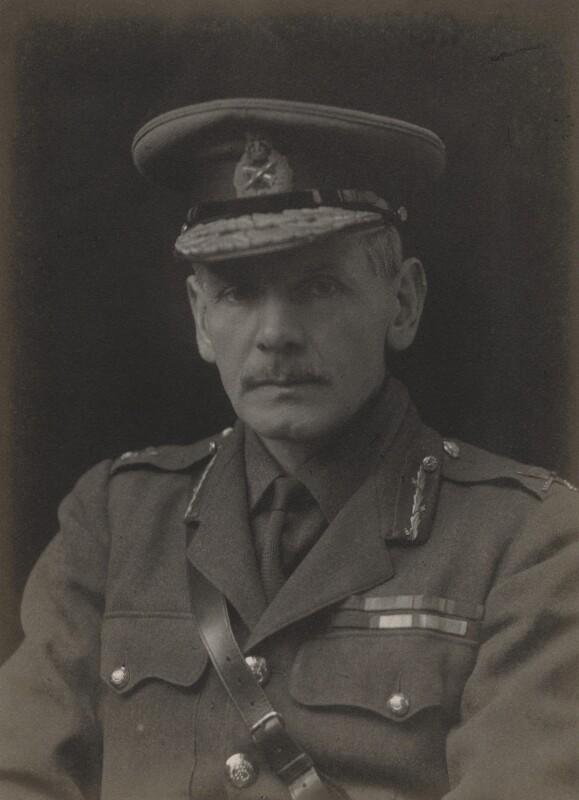 George Edward Pereira, by Walter Stoneman, 1918 - NPG x169940 - © National Portrait Gallery, London