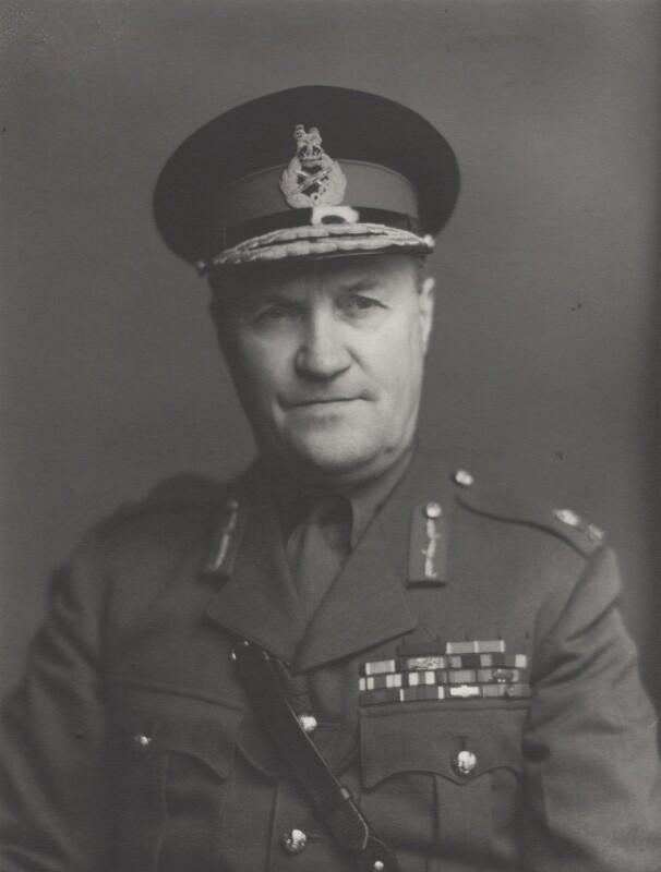 Sir Harold Redman, by Walter Stoneman, 1955 - NPG x159843 - © National Portrait Gallery, London