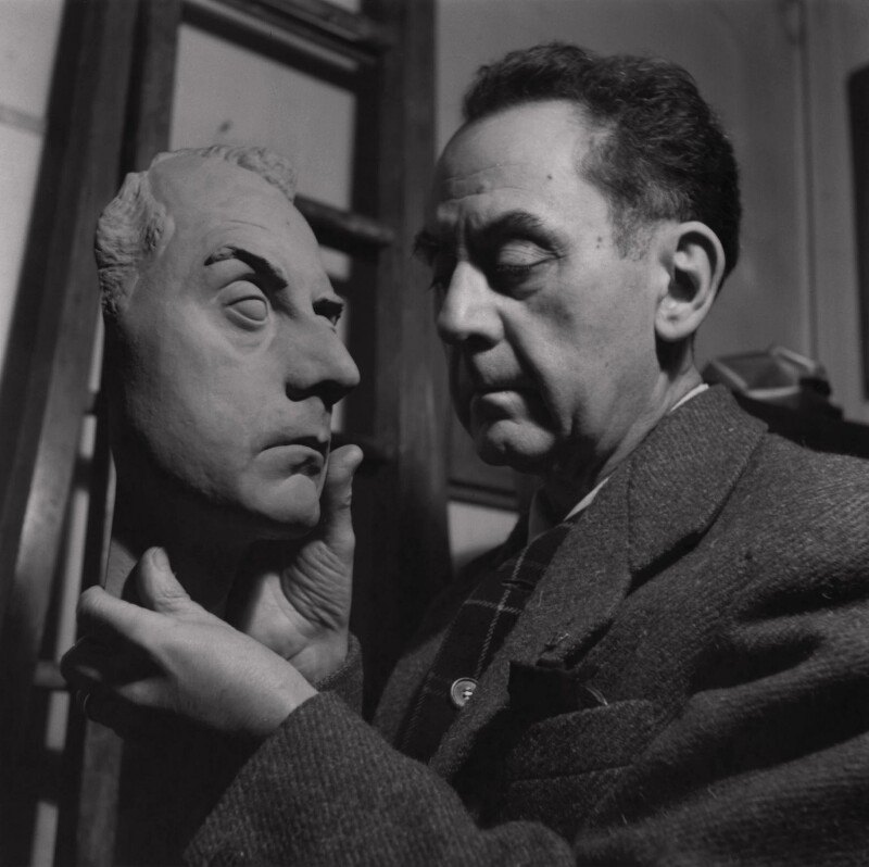 Man Ray, by Ida Kar, 30 March 1954 - NPG x136726 - © National Portrait Gallery, London