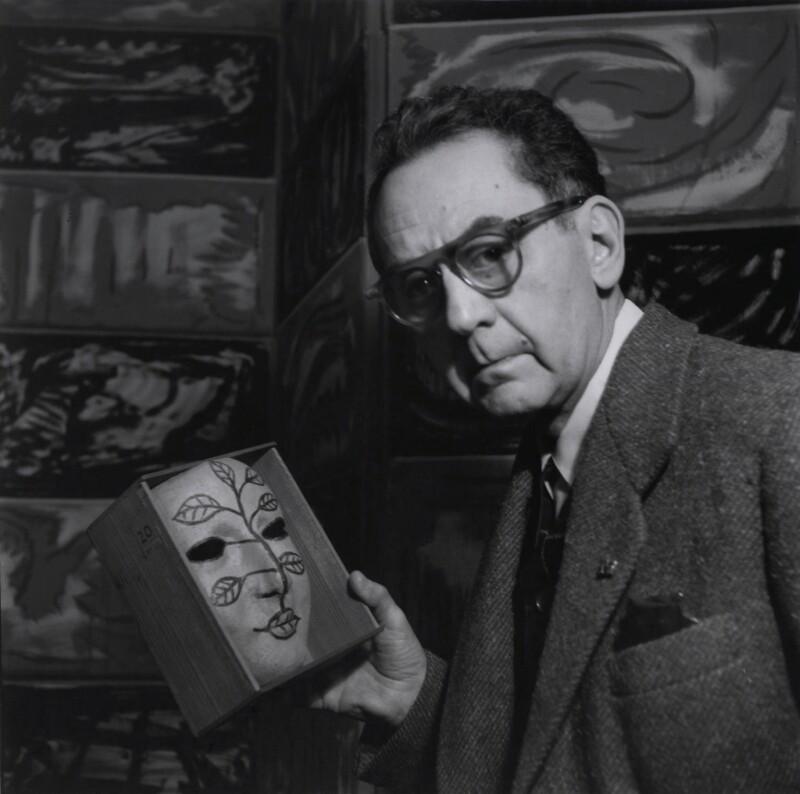 Man Ray, by Ida Kar, 30 March 1954 - NPG x136728 - © National Portrait Gallery, London