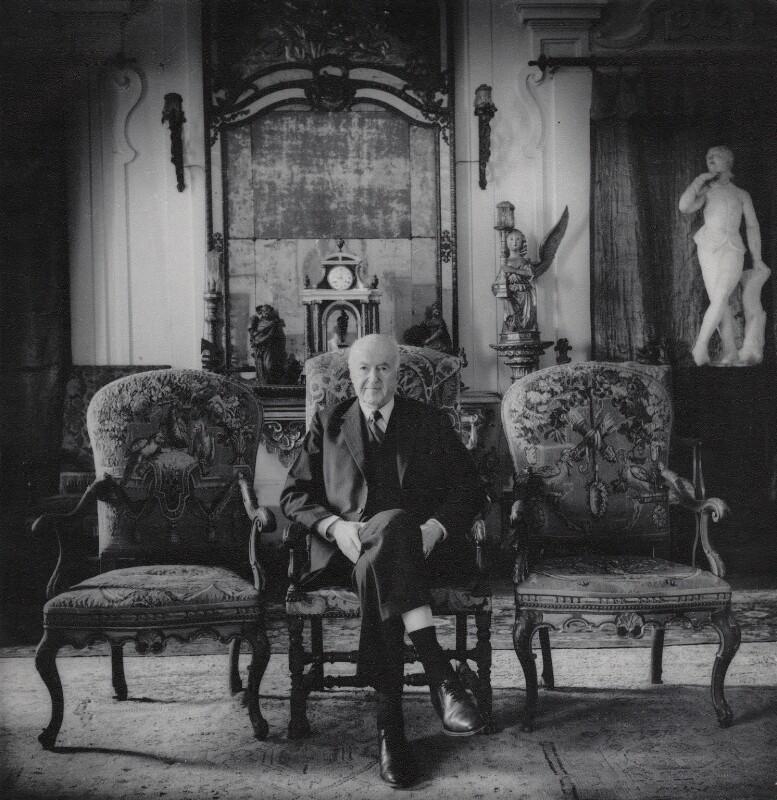 Sir Harold Mario Mitchell Acton, by Matthew R. Lewis, circa 1989 - NPG x136788 - © Matthew R. Lewis