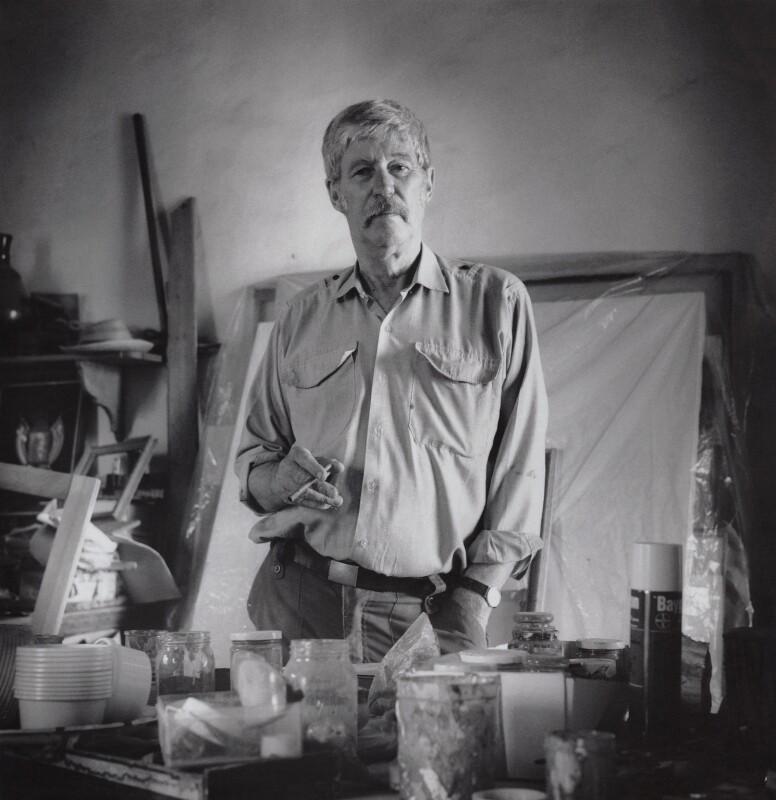 John Craxton, by Matthew R. Lewis, 1992 - NPG x136793 - © Matthew R. Lewis