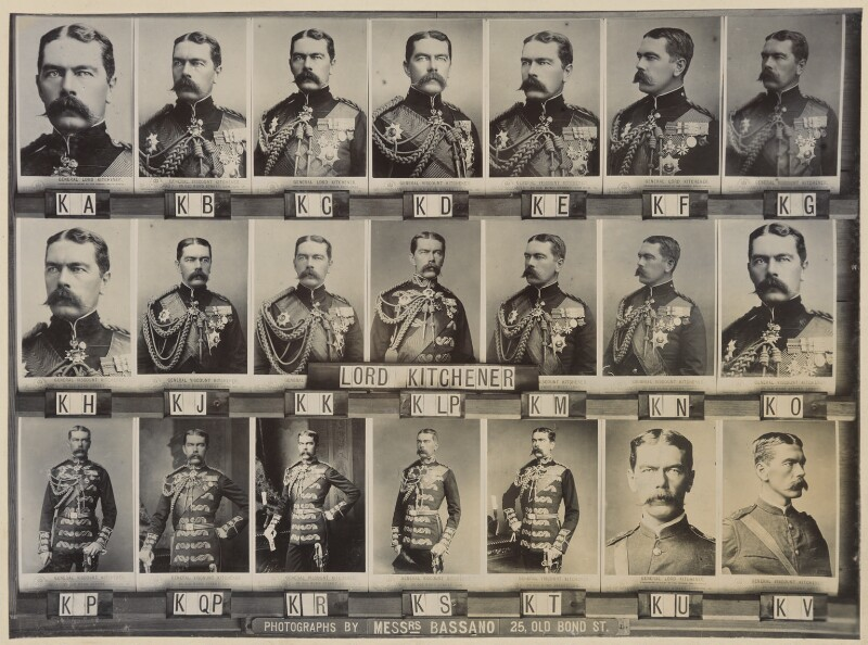 Herbert Kitchener, 1st Earl Kitchener, by and after Alexander Bassano, circa 1902 (1885-1895) - NPG Ax136825 - © National Portrait Gallery, London