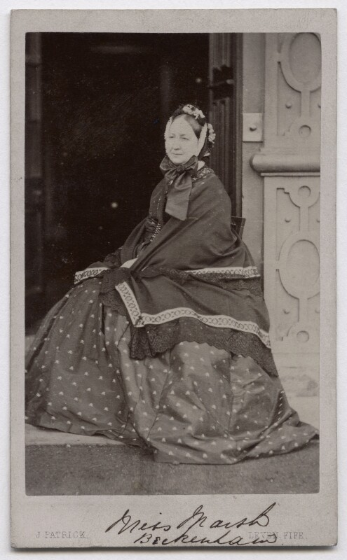 Catherine Marsh, by John Patrick, 1865 - NPG x136799 - © National Portrait Gallery, London