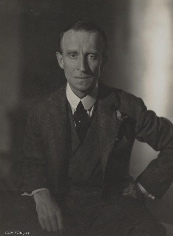 John Buchan, 1st Baron Tweedsmuir, by Howard Coster, 1931 - NPG Ax136133 - © National Portrait Gallery, London