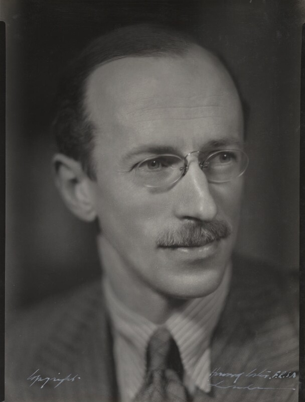 Sir Basil Henry Liddell Hart, by Howard Coster, 1930s - NPG Ax136145 - © National Portrait Gallery, London