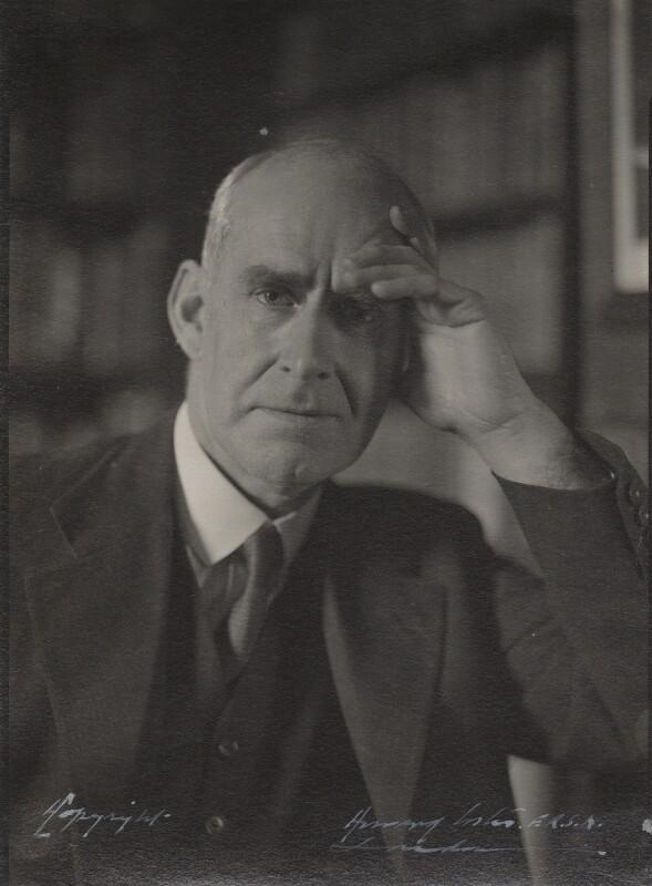 Sir Arthur Eddington, by Howard Coster, 1936 - NPG Ax136146 - © National Portrait Gallery, London