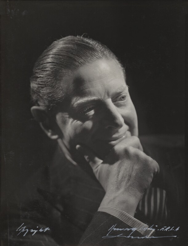 Ben Travers, by Howard Coster, 1936 - NPG Ax136153 - © National Portrait Gallery, London