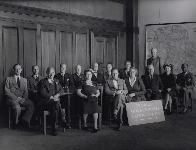 World Association of Parliamentarians for World Government, 1954, by Howard Coster, 1954 - NPG x136843 - © National Portrait Gallery, London