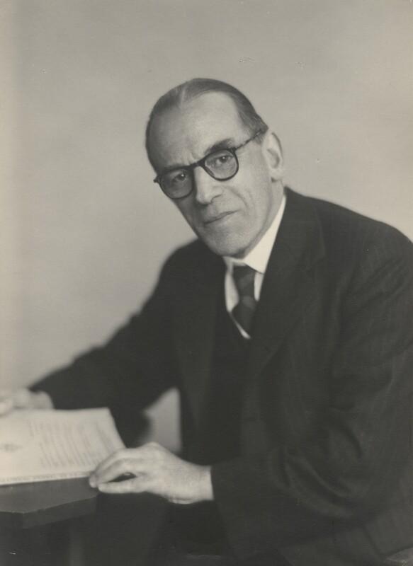 Sir Charles Swift Lillicrap, by Walter Stoneman, 21 September 1948 - NPG x168943 - © National Portrait Gallery, London