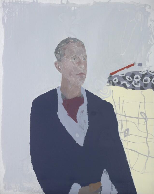 Randolph ('Randy') Lerner, by Humphrey Ocean, 2014 - NPG 6986 - © National Portrait Gallery, London