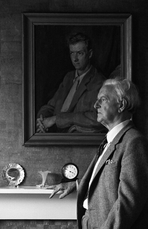 Sir Peter Neville Luard Pears, by Malcolm Crowthers, 2 May 1984 - NPG x136989 - © Malcolm Crowthers / National Portrait Gallery, London