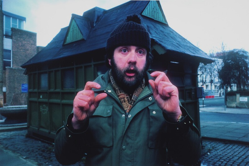 Mike Leigh, by Clay Perry, 1979 - NPG x136994 - © Clay Perry