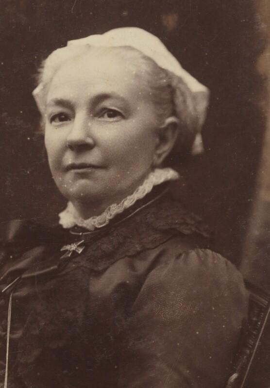 Margaret Oliphant Wilson Oliphant, by Hayman Seleg Mendelssohn, before 1894 - NPG P1700(3b) - © National Portrait Gallery, London