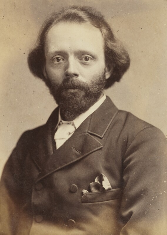 Sir (Thomas Henry) Hall Caine, by Unknown photographer, circa 1894 - NPG P1700(4c) - © National Portrait Gallery, London