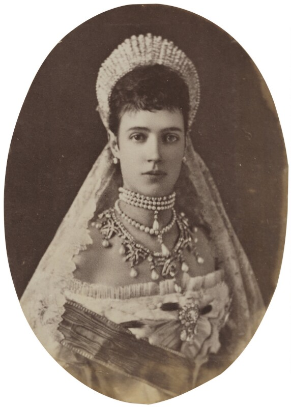 Maria Feodorovna, Empress of Russia (Princess Dagmar), by Sergey Lvovich Levitsky, circa 1881 - NPG P1700(6c) - © National Portrait Gallery, London