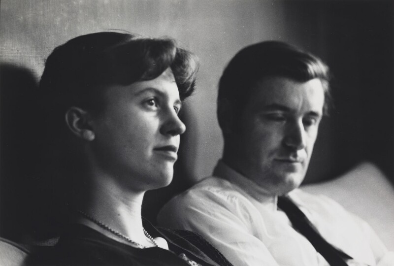 npg x137160 sylvia plath ted hughes portrait national portrait