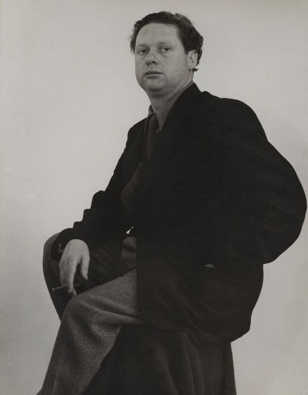Dylan Thomas, by Rollie McKenna, 1952 - NPG x137177 - © Rosalie Thorne McKenna Foundation; Courtesy Center for Creative Photography, University of Arizona Foundation