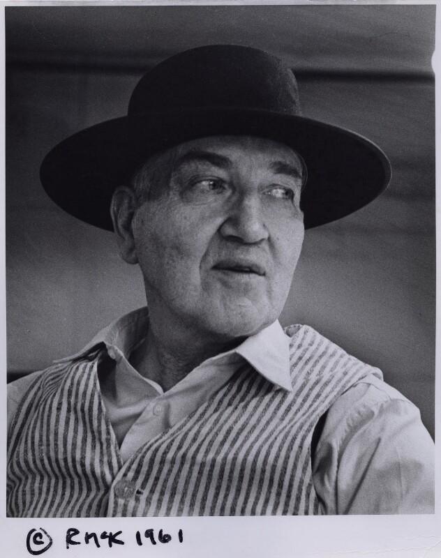 Robert Graves, by Rollie McKenna, 1961 - NPG x137183 - © Rosalie Thorne McKenna Foundation; Courtesy Center for Creative Photography, University of Arizona Foundation