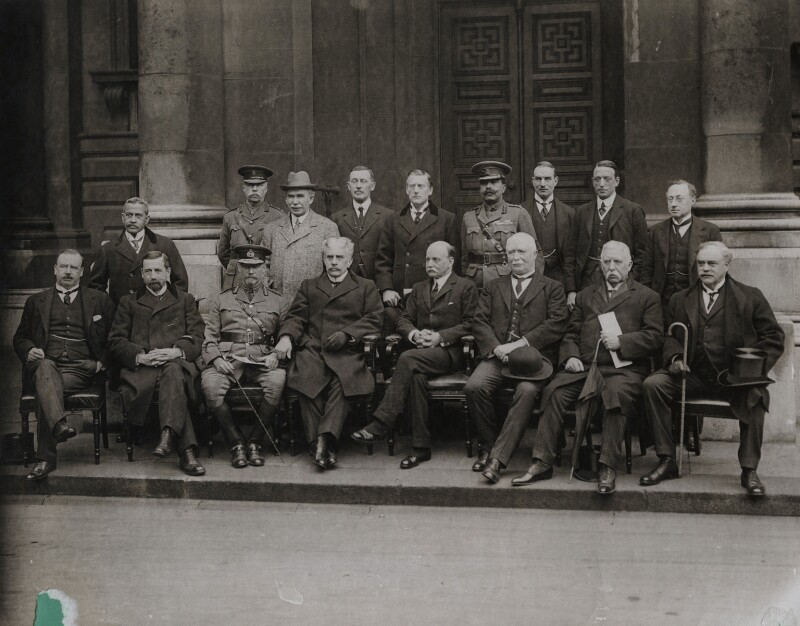 'The Imperial War Conference', possibly by Lafayette (Lafayette Ltd), for  Topical Press, March-April 1917 - NPG x137204 - © National Portrait Gallery, London